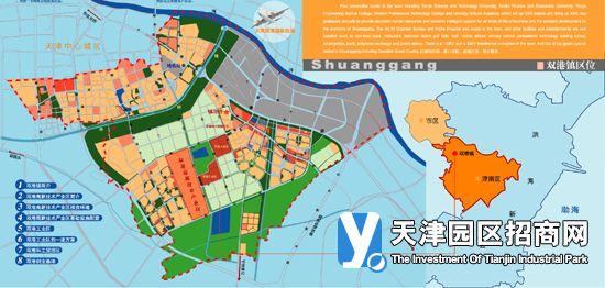 镇区拥有天津科技大学